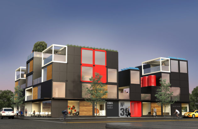 Charmant Blokable Apartment Projects Can Be Stacked Up To Five Stories High.  (Blokable Rendering)