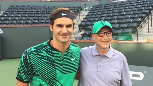 Roger Federer, Microsoft's Gates to play doubles for charity