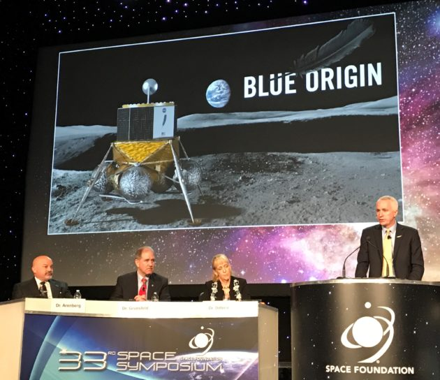 Image result for Blue Moon lunar lander origin