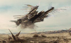 """""""John Carter"""" airship"""