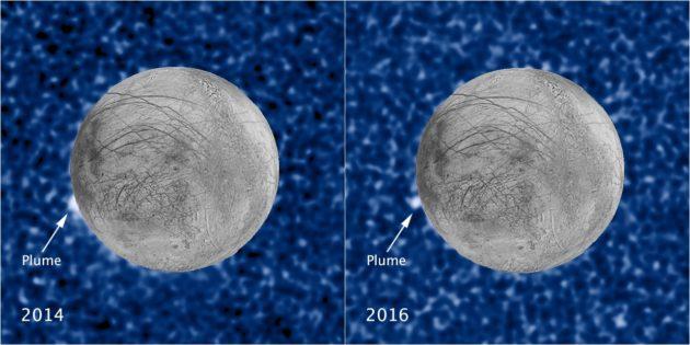 Jupiter and Saturn's moons are ocean worlds