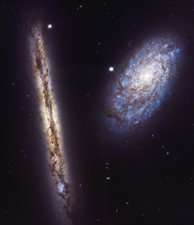 Hubble team celebrates telescope's 27th birthday with ...