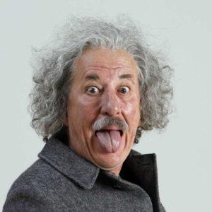"""Geoffrey Rush as Albert Einstein in """"Genius"""""""