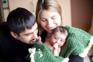 Kientz and her husband, Shwetak Patel, had their first baby nine months ago.