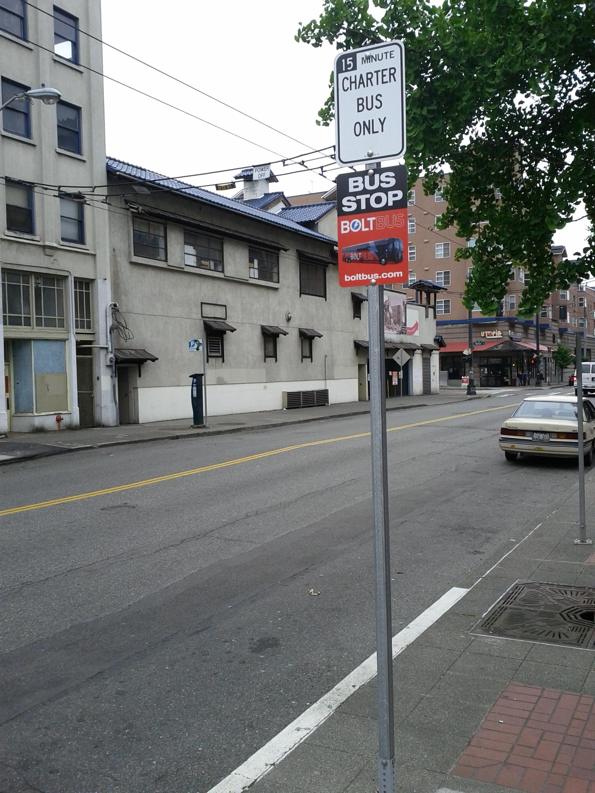 From Seattle To Portland Boltbus Feels Like A Beta Geekwire