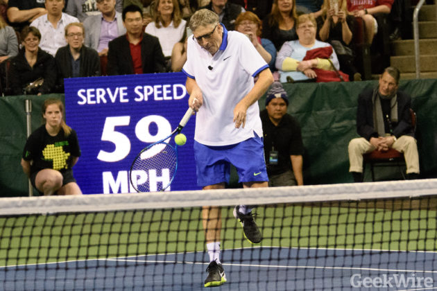Bill Gates tennis