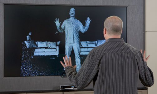 The new Kinect for Windows has enhanced fidelity and depth perception. Photo via Microsoft.