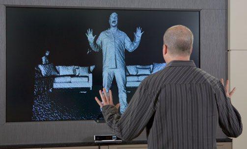 The new Kinect for Windows has enhanced fidelity and depth perception. Photo via Microsoft.