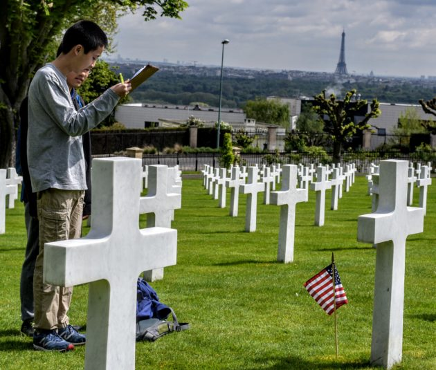 Students in Washington state and Paris collaborate on app to share untold stories of WWI vets
