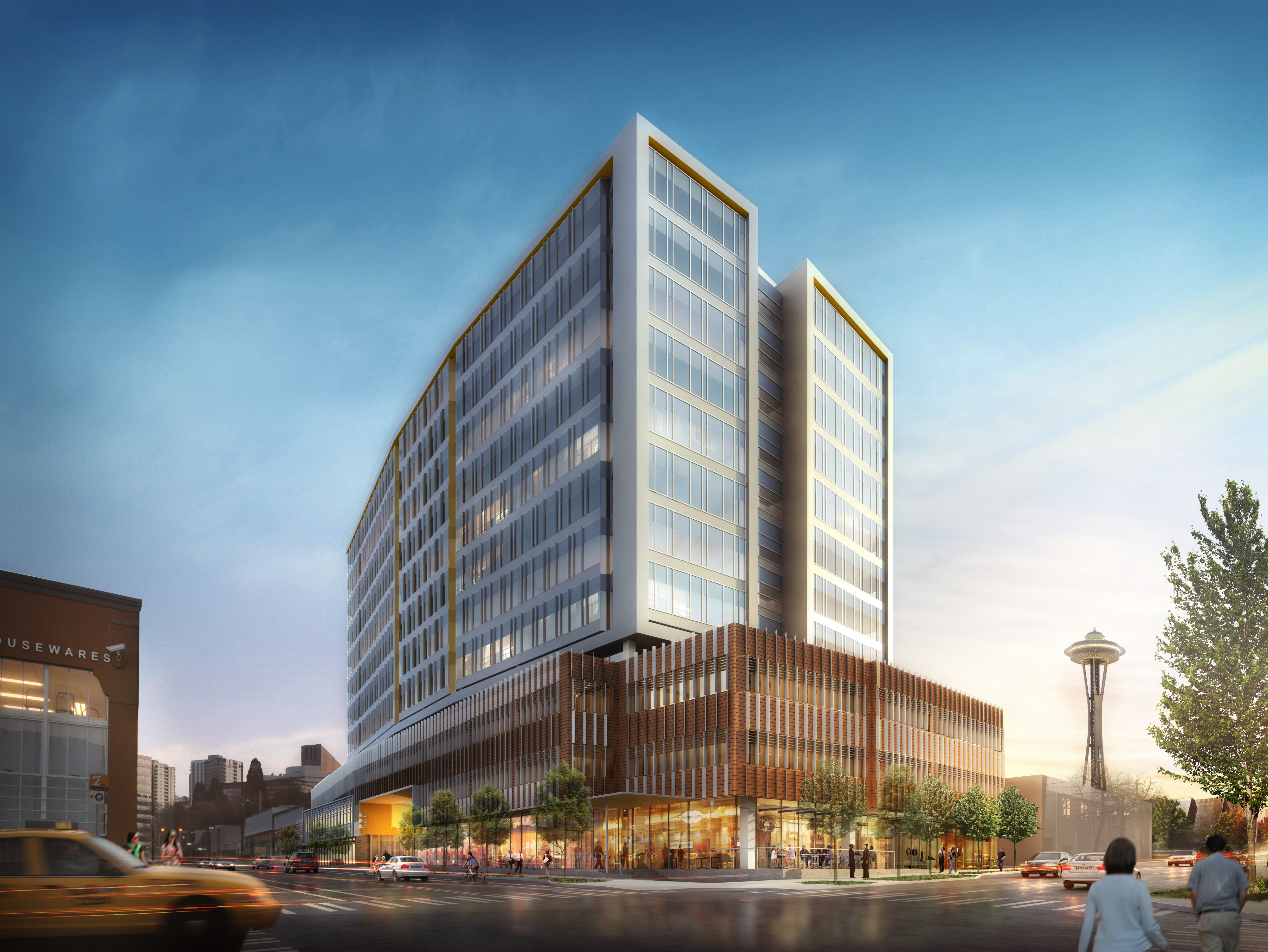 Amazon s rapid expansion in seattle continues with two for Seattle builders