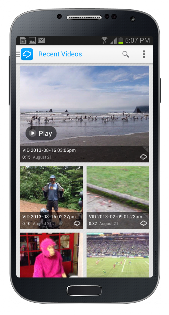 Android_RPC Recent Screenshot