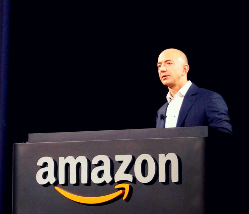 jeff bezos amazoncom essay This research paper talks about the path of jeff bezos who has established the amazon in 1994, which initially, was a cyber-bookstore, but nowadays became a.