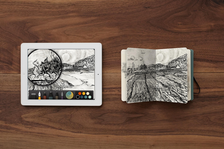 Turn Paper Drawing Into Digital Art