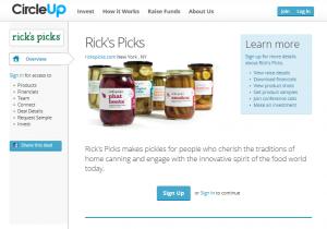 Screenshot from CircleUp Sept 23