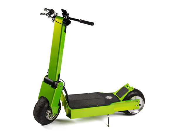 Electric Sit Down Scooter >> This electric scooter goes 33 MPH for 36 miles, uses your smartphone as a speedometer – GeekWire