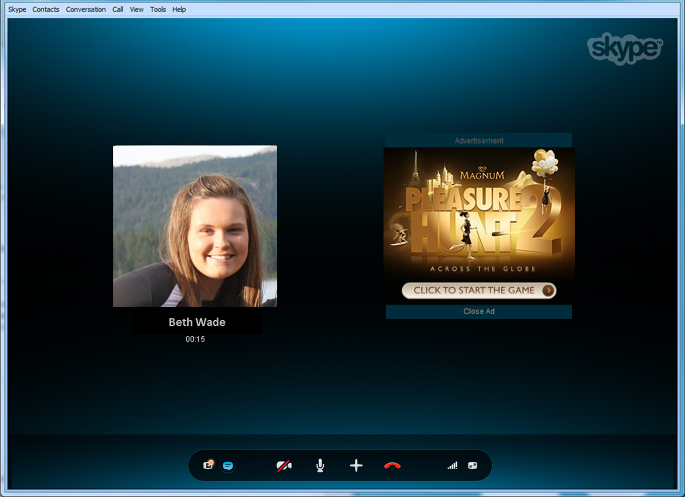 Skype Debuts Conversation Ads For Audio Calls, Hopes To -8498