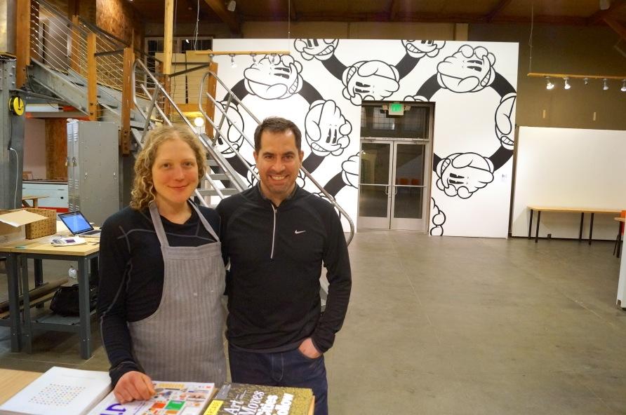 Makerhaus founders Ellie and Mike Kemery