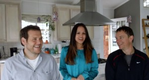 Left to right: Scott Falconer, Lauren Rabaino and Mark Briggs of Fork.
