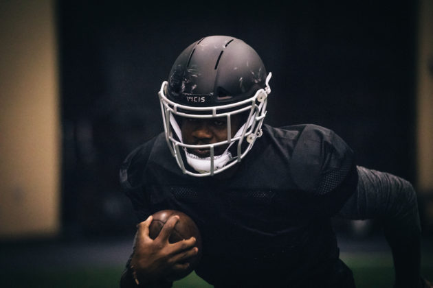 9d73139c89e NFL and NCAA teams will equip players with VICIS high-tech helmets during  spring football