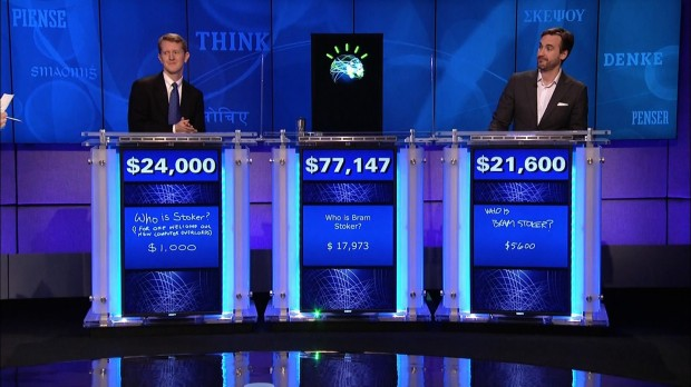 IBM's Watson triumphs on Jeopardy.