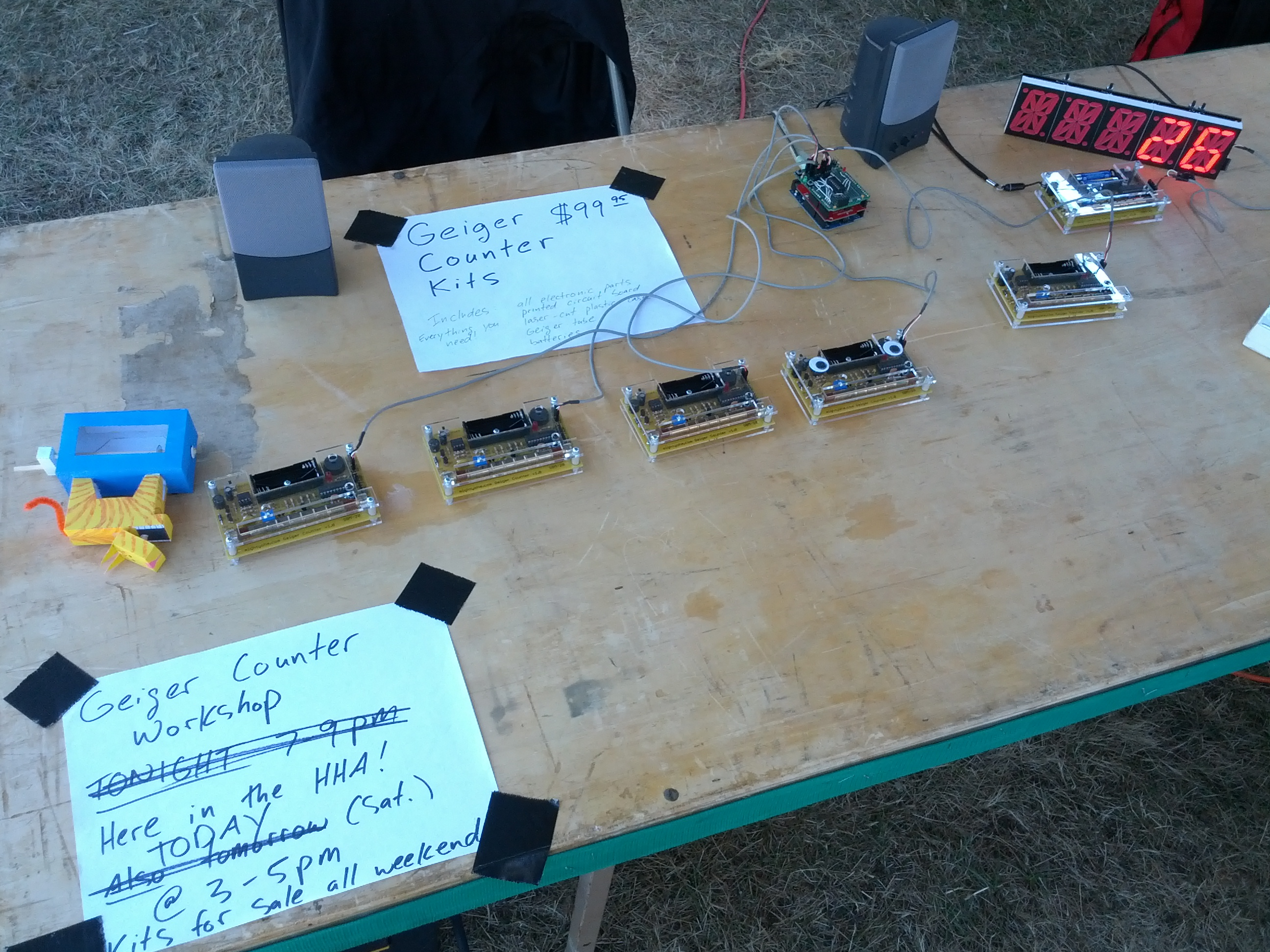 Toorcamp Journal Day 3 Finally The Implantation Station Geekwire Geiger Counter Circuits Kits At