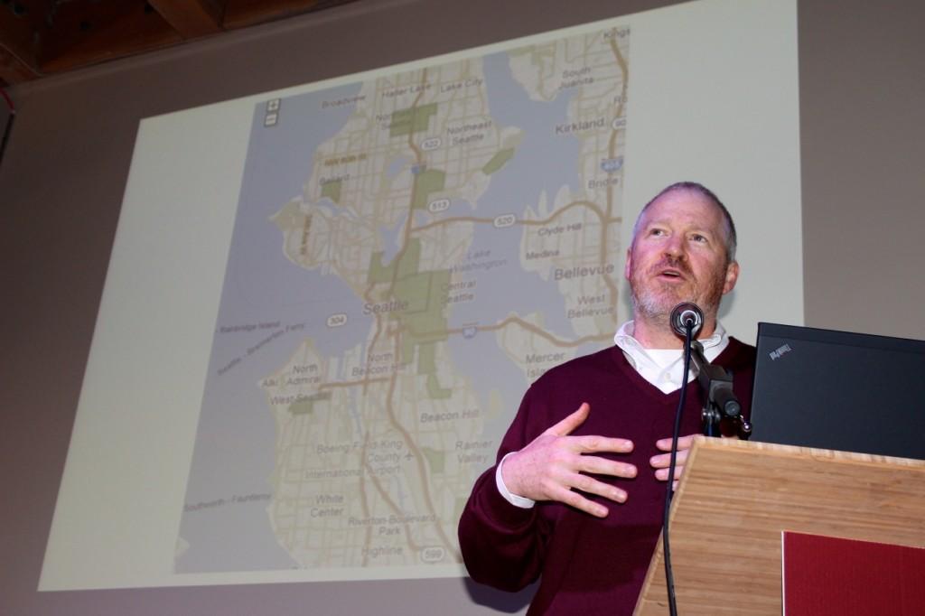 Mayor Mike McGinn.