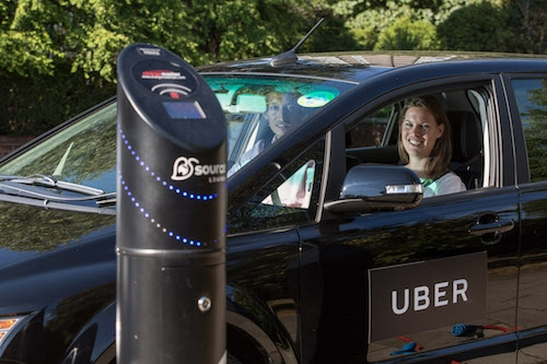 Uber Lease Car >> Uber launches first-in-the-U.S. electric vehicle program in Portland - GeekWire