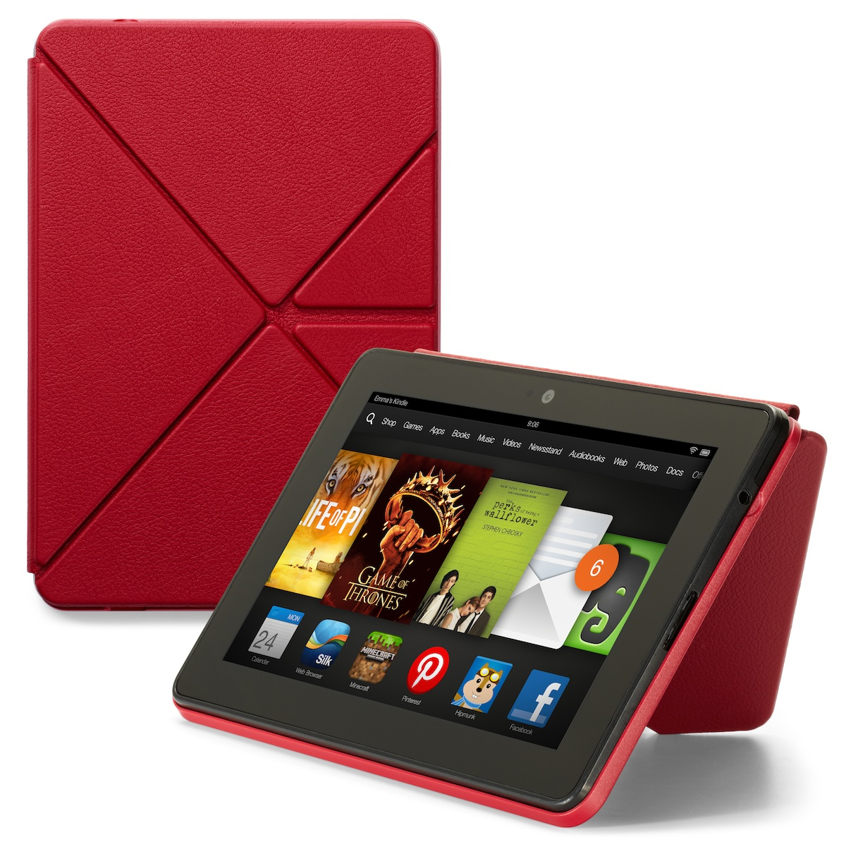 First look: Amazon's Kindle Fire 'Origami' stand in action