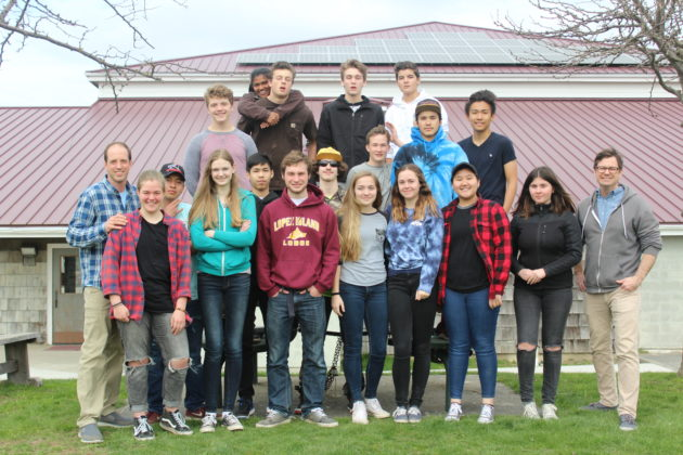 Lopez Island students
