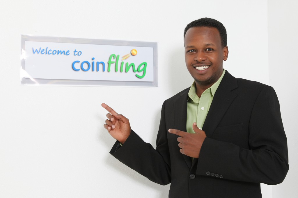 CoinFling founder and CEO Musse Roble