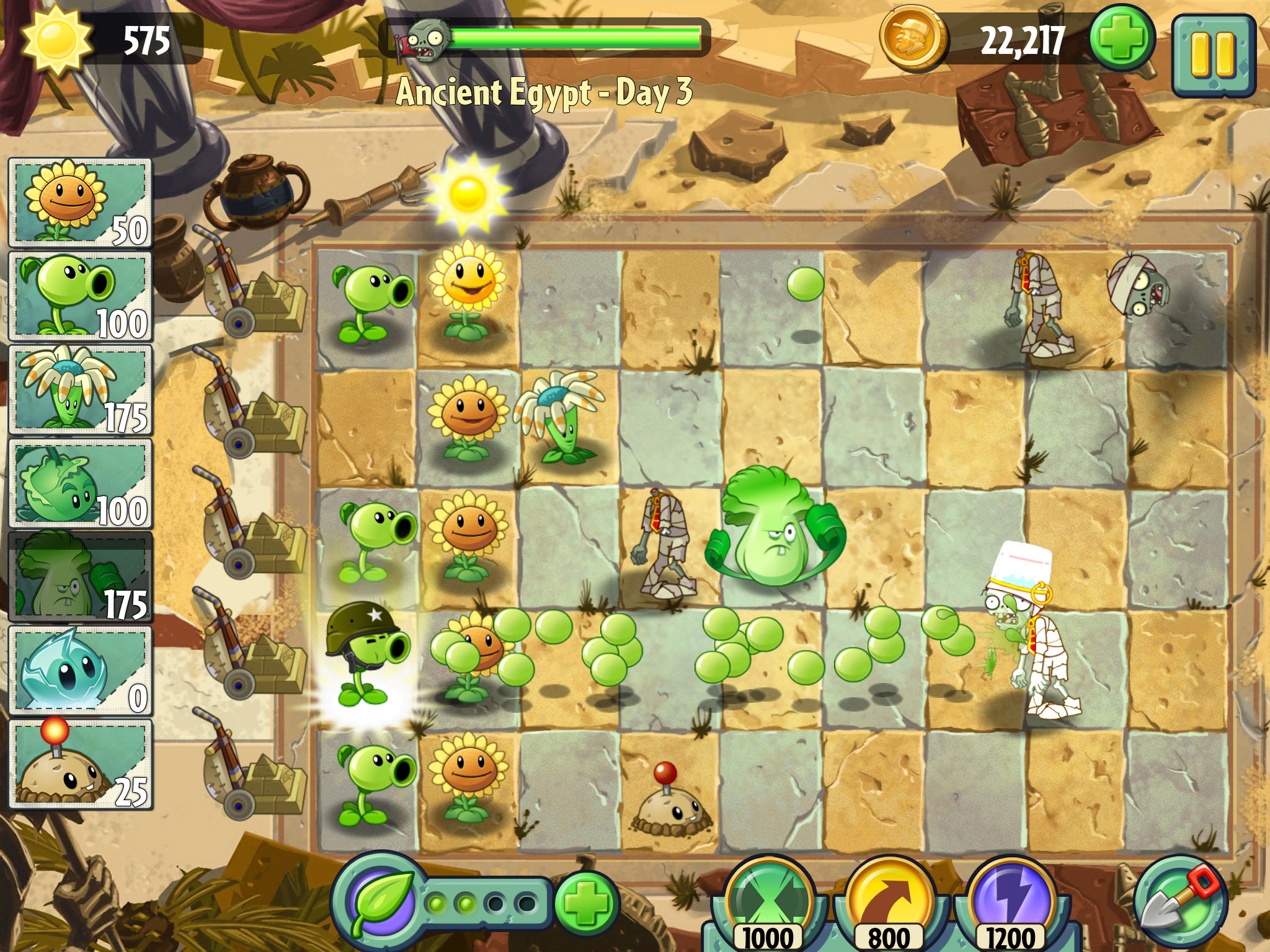 the zombies are coming u2026again plants vs zombies 2 lurches onto