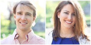 GoRecess co-founders Bill Arzt and Megan Smyth.