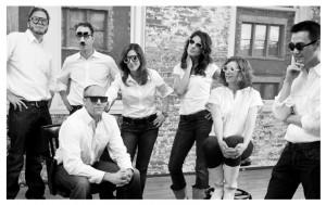Early members of the Rivet & Sway team