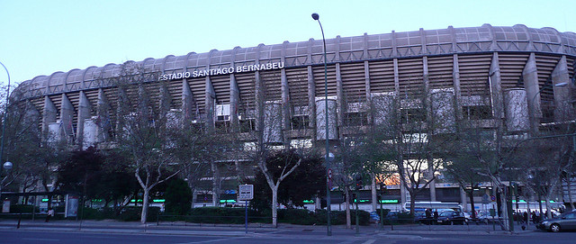 Microsoft is in talks to purchase the naming rights to Real Madrid's home stadium, the Santiago Bernabeu. Photo via Flickr user reservasdecoches.com.