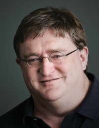 Valve's Gabe Newell.
