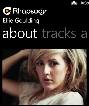 Rhapsody app arrives for Windows Phone 8