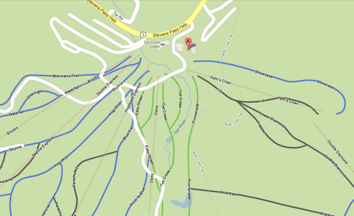 googlemapstrails