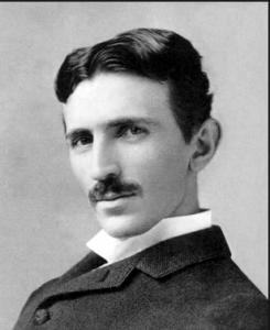 Nikola Tesla.