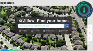 Zillow won both the People's Choice and Webby Award for the real estate website category.