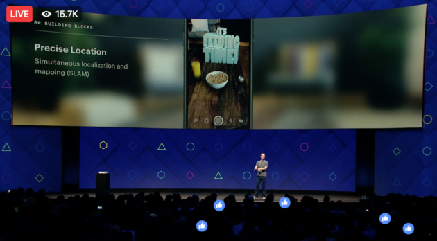 Facebook using AI-infused camera across its products