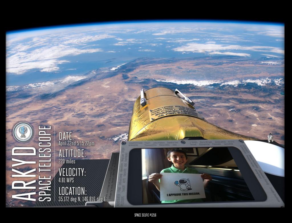 Space Selfie his res