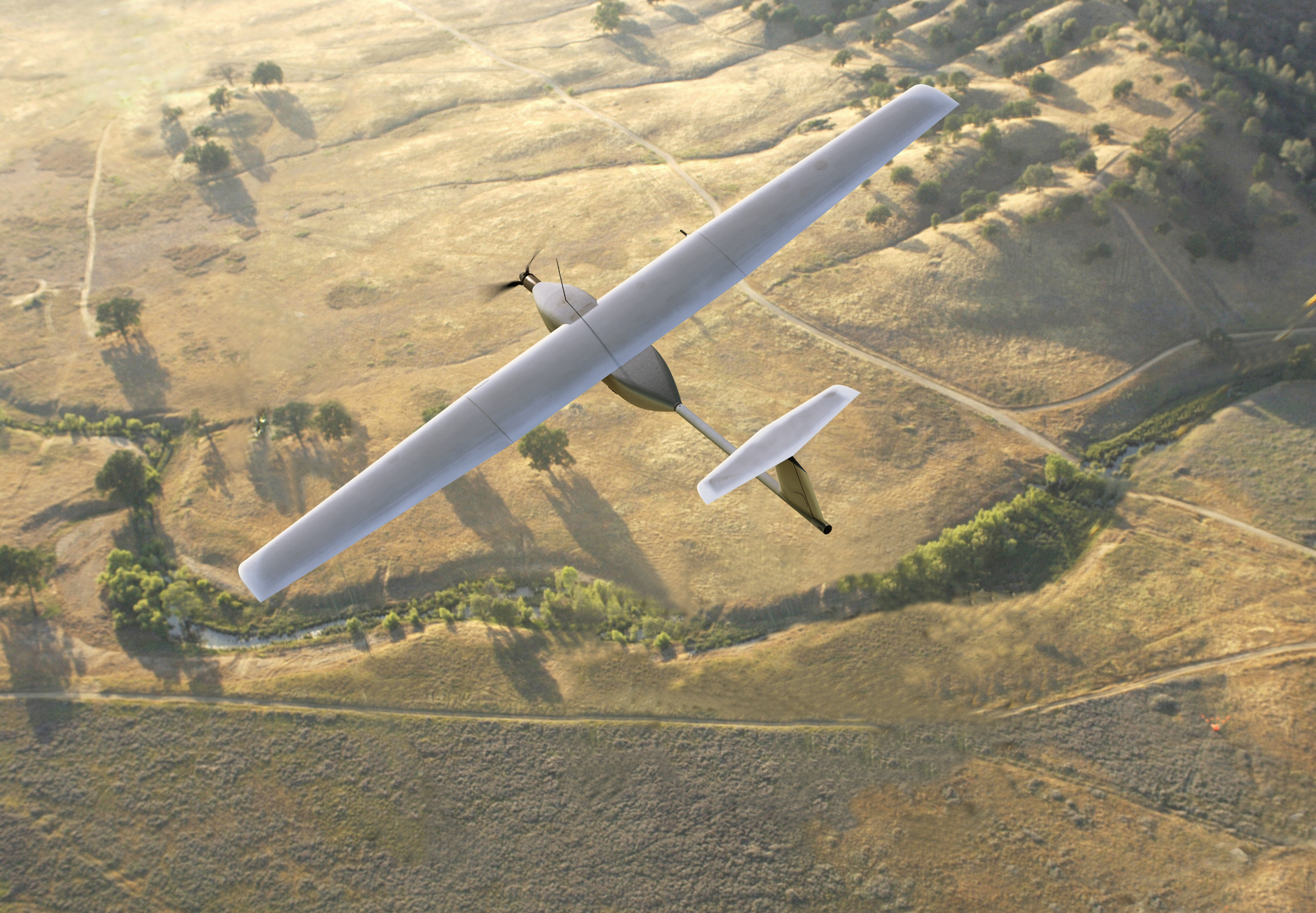 Stalker Aircraft Makes First Laser Powered Outdoor Flights Geekwire