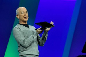 Leading the charge: Windows President Steven Sinofsky.