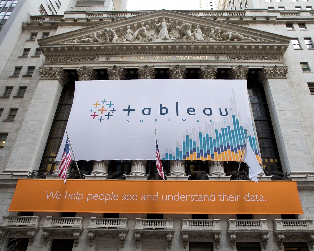 Tableau went public in 2013.
