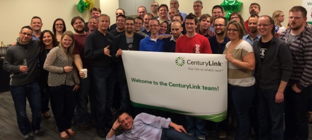 Tier 3 celebrates their acquisition by CenturyLink last year.