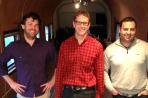 Your Brandlive employees Josh Cox, Fritz Brumder and Tony Pullen (not pictured Ben McKinley and Scott Harrah)