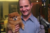 Aaron Easterly with Caramel on the GeekWire podcast
