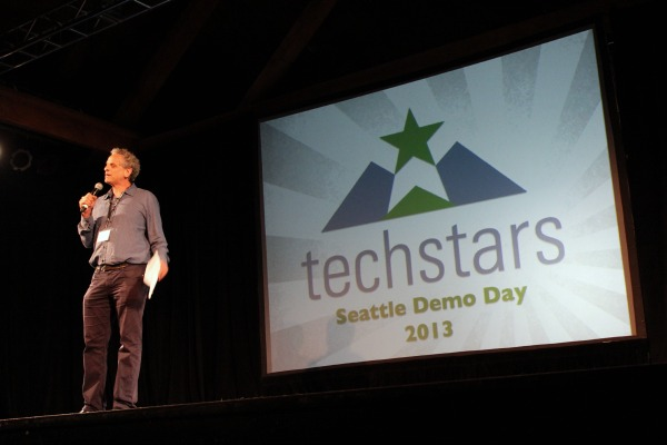 Techstars Managing Director Andy Sacks at the 2013 Demo Day.