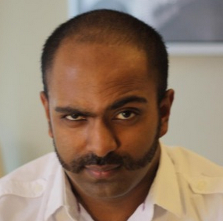 The 2102 winner of the GeekWire Movember challenge was Aravanan Sivaloganathan of Amazon.com