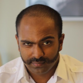 Aravanan Sivaloganathan of Amazon.com won GeekWire's 2012 Movember competition.